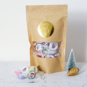 Festive Fruity Rock Sweets - chocolates & confectionery