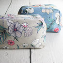 Spring Blooms Large Wash Bag