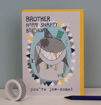Birthday Card For Your Brother