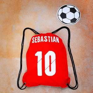 Personalised Football Bag - personalised