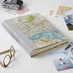 Personalised London Map Photo Album