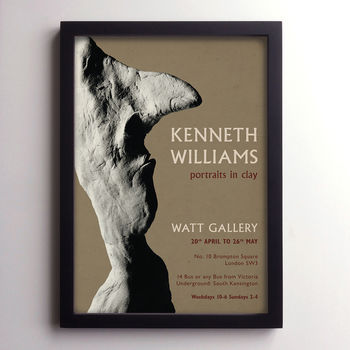 Kenneth Williams Print