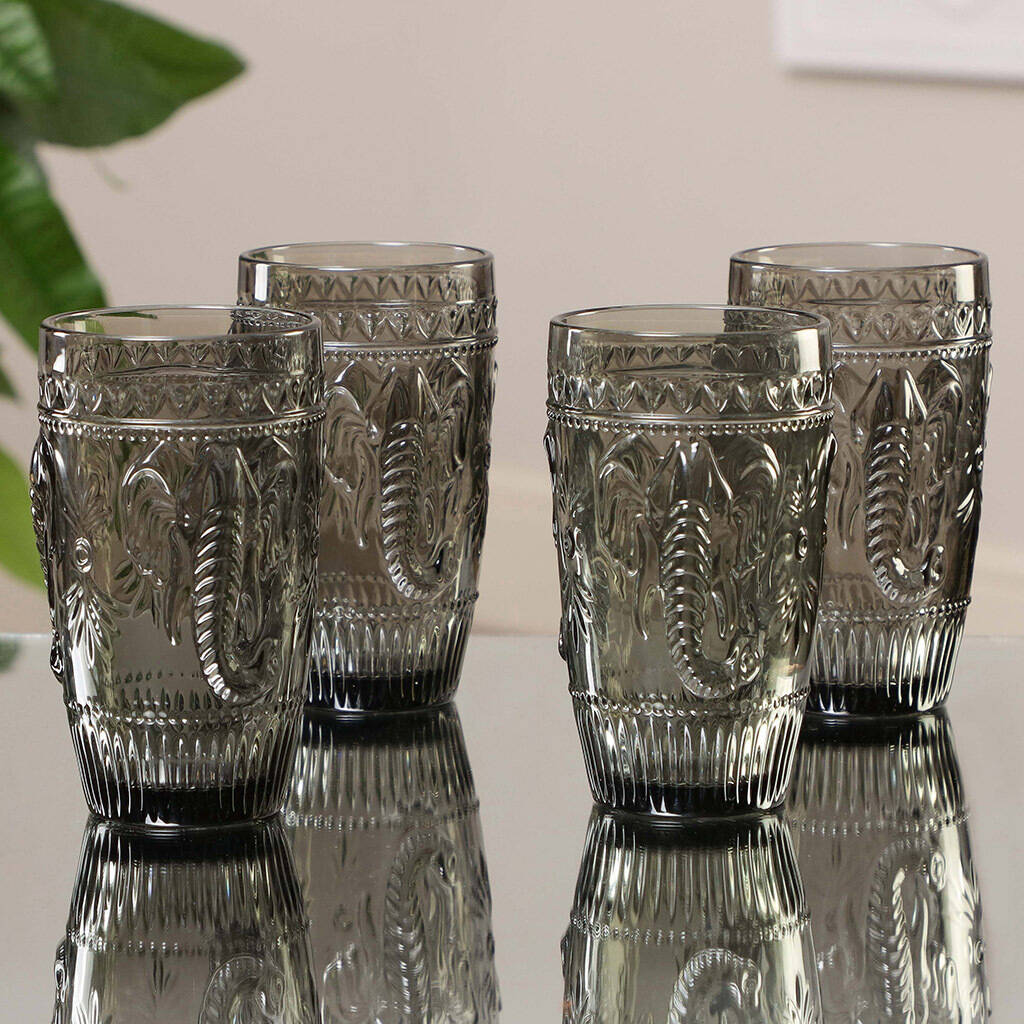 savanna-paradise-set-of-four-hiball-tumblers by dibor