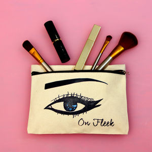 Personalised Eye Make Up Pouch - gifts for teenage girls