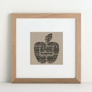 Personalised Favourite Teacher Print