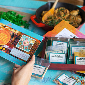 Three Month Friday Night Curry Subscription - gifts for him