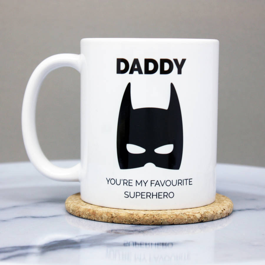 Superhero Daddy Mug