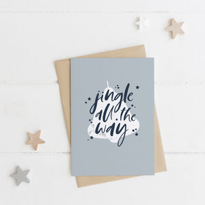 Jingle All The Way Christmas Card