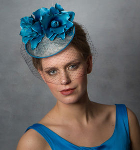 Flower Wedding Hat - hats & fascinators
