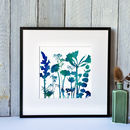 Watercolour Flower Mix Number One, Framed Print
