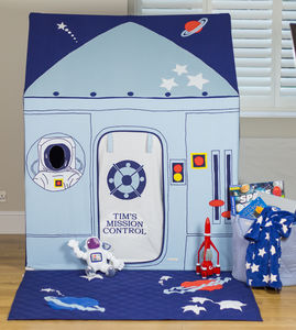 Large Outer Space And Rocket Play Tent - garden