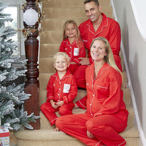 Personalised Family Christmas Pyjamas