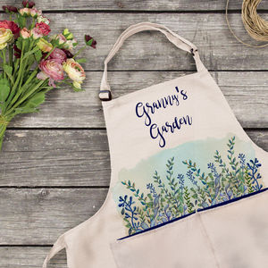 Personalised Garden Apron - kitchen