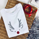 Rudolph Sparkle Christmas T Shirt