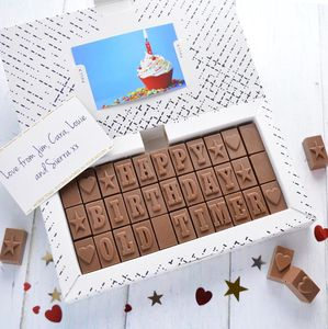Personalised Chocolate Photo Gift