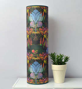 Stunning Tropical Garden Tube Lamp - living room