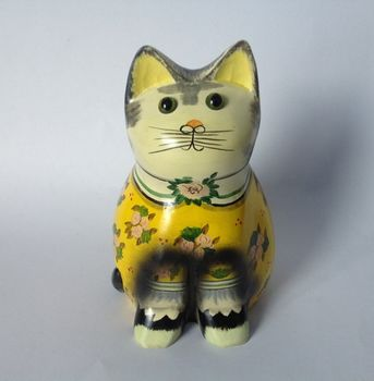 Ornamental Cat Yellow Pd3