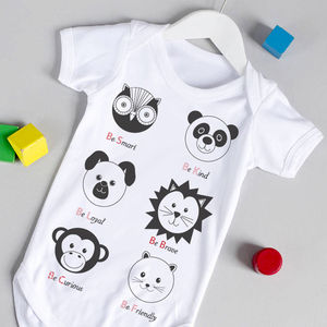 Animal Babygrow - gifts for babies