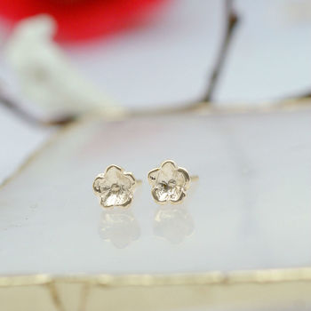 Forget Me Not Earrings Silver