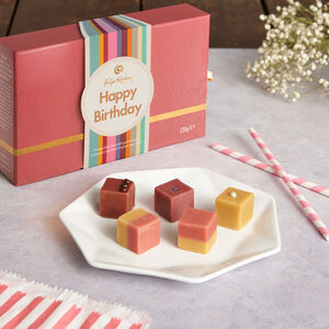 Happy Birthday Tuck Shop Fudge Sharer Selection