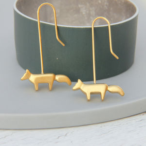 Fox Drops - earrings