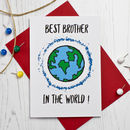 Best Brother In The World Card