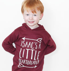 Personalised Valentines 'Little Heartbreaker' T Shirt - personalised gifts