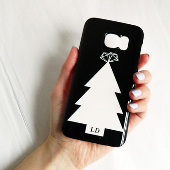 Personalised Christmas Tree Phone Case