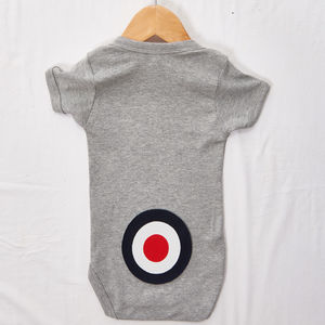 Navy Bottom Target Babygrow - new in baby & child