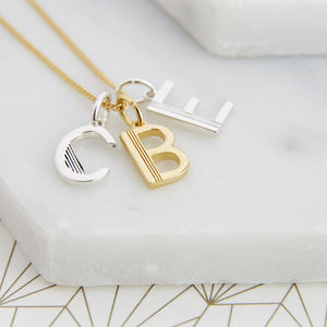 Multi Initial Necklace
