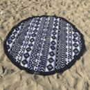 Aztec Roundie Beach Towel