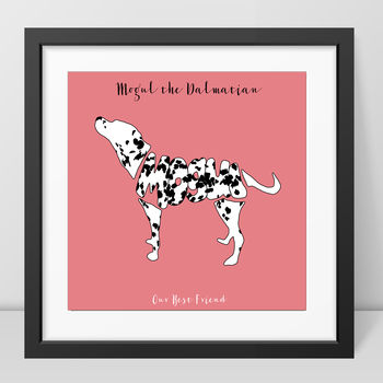 Personalised Dalmatian Picture