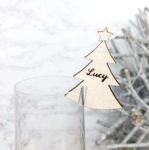 Christmas Tree Place Setting - table decorations