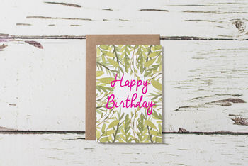 Set Of Five Greetings Cards