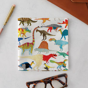 Dinosaurs Handkerchief Pocket Square - 40th birthday gifts
