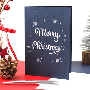 Merry Christmas Traditional Greeting Card - cards & wrap
