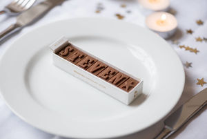 Personalised Chocolate Place Names