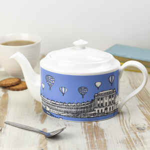 Bath Teapot - dining room