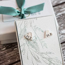 Marathon Earrings Silver
