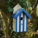 Handmade Beach Hut Bird House