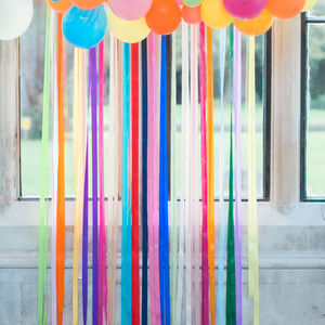 Ribbon Garland / Backdrop / Curtain