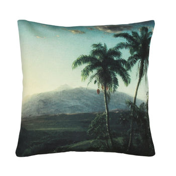 Palm Springs Landscape Cushion