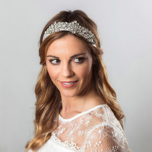 Ezra Crystal Embellished Hair Band