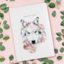 Luxury Wolf Notebook / Journal