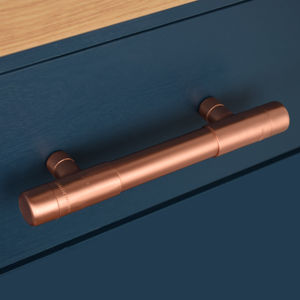 Chunky Copper T Bar Pull - door knobs & handles
