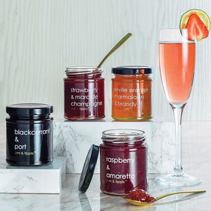 Gift Set Of Alcoholic Jams - gifts for her