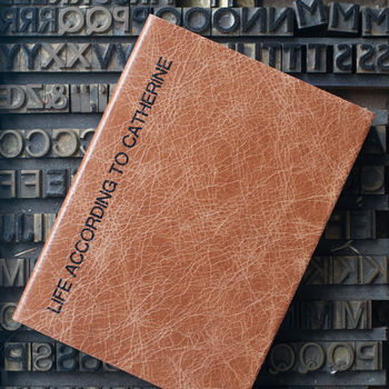 2017 Diary Real Leather Luxury Gift