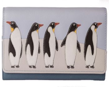 Penguin Leather Purse