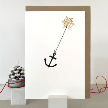 Anchor Christmas Card