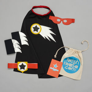 Comet Superhero Costume Gift Set